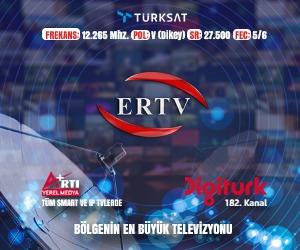 ERTV Uydu Frekans Bilgileri